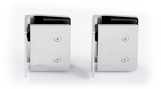 530W-P Glass to wall polished rear