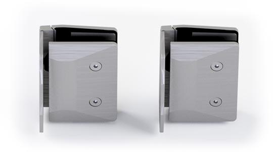 rear 530W-S Glass to wall satin rear