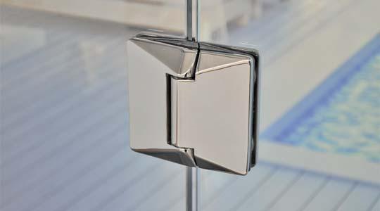 glass gate 530G-P polished